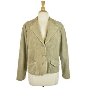 Sonoma Life + Style Corduroy Blazer Jacket